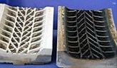 Rubber and elastomer mould